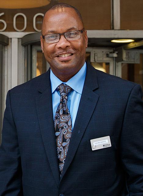 Rahim Saafir, senior human resources manager at the Hilton Garden Inn, Dallas.