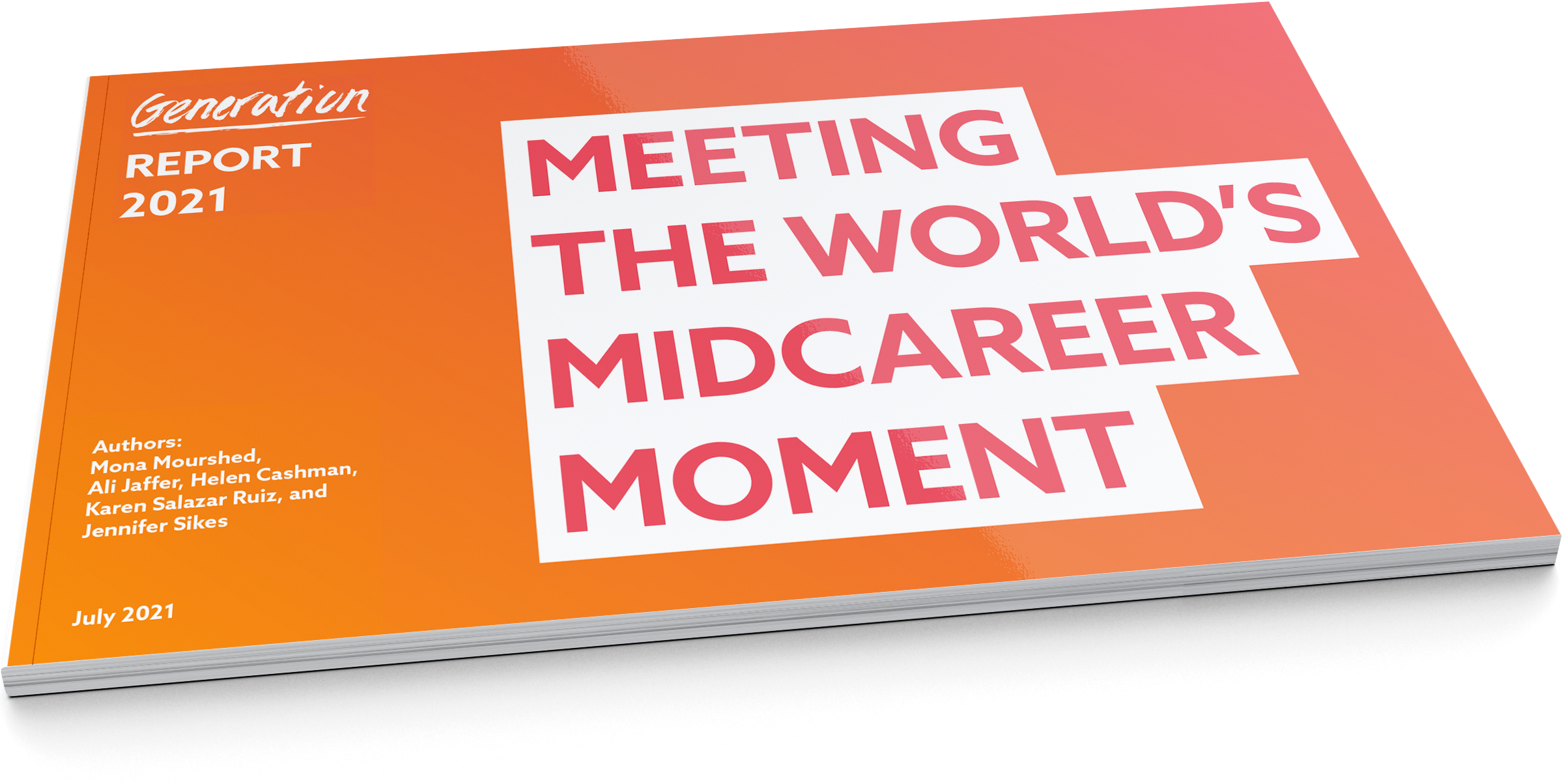 Meeting the World's Midcareer Moment